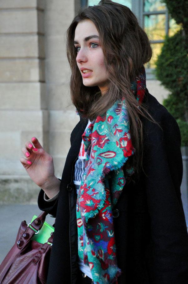 Paris Fashion Week A/W 2009 street styles