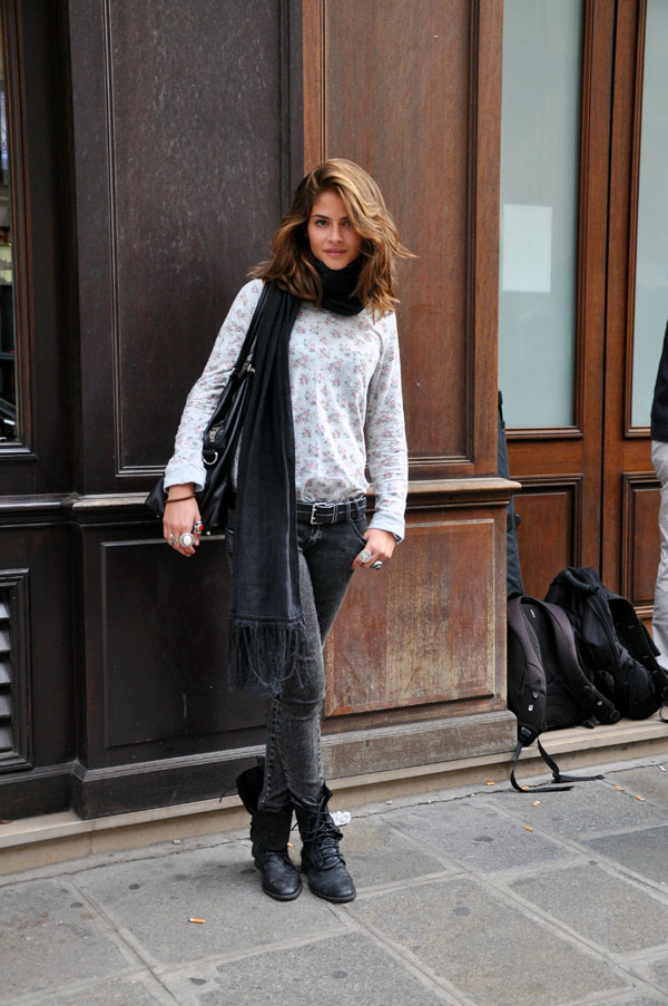 Alba, Paris Fashion Week | Trendycrew :  paris fashion week fashion week street fashion boots